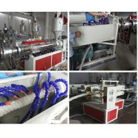 China Energy Saving Pipe Production Line / PE Carbon Reinforced Spiral Pipe Machine wholesale