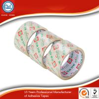 China Strong Adhesive Crystal Clear Tape Single-Sided Sticky Pressure Sensitive wholesale