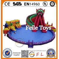China Popular Inflatable Water Park Slides For Sale on sale