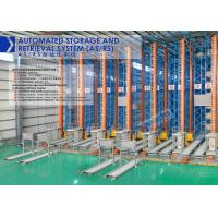 China High Density Automated Storage And Retrieval System Unit Goods Type With Stacker Crane on sale