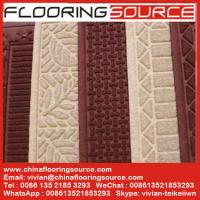 Buy cheap Embossed Waherhog Entrance Mat Rubber Backing Polypropylene Fiber Water hold from wholesalers