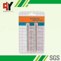 China Transparent Self Adhesive Solderless Bread Board ABS 25 Points wholesale