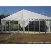 Transparent Glass Wall Outdoor Luxury Wedding Tents With Full Beautiful for sale