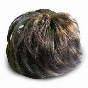 China Wig, Made of Human Hair Kanekalon or Chinese Fiber, Available in Various Colors wholesale