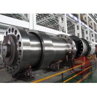 China Alloy Steel Forged Spindle Shaft Forging 100T OEM For Hydraulic Generator wholesale