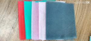 China colorful nonwoven fabric for face mask pink/green/red/BLACK/GREY wholesale