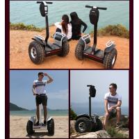 Quality Smart 19 Inch All Terrain Hoverboard Car , Handle Drift 2 Wheel Electric Standing Scooter for sale