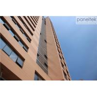 China 18mm 30mm 20mm Thick Terracotta Cladding Building Facade , Exterior Cladding Materials wholesale