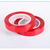 China Red Paper Splicing Tape In Variety Of Carriers With Different Adhesive Systems wholesale