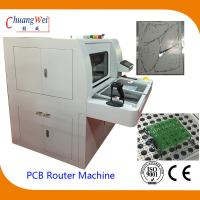 China Double Station PCB Router Machine With Auto Routing Bit Checker wholesale