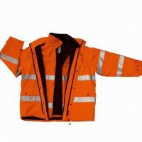 China Water-resistant Work Suit, Made of 150D Nylon wholesale
