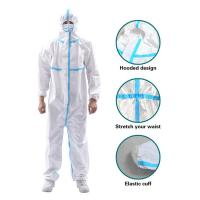 China Anti Virus Disposable Isolation Gown , Hospital Waterproof Isolation Gown wholesale
