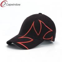 China Heavy Brushed Cotton Baseball Caps Embroidered / cotton twill baseball caps wholesale