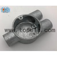 China Branch Three Y Way BS4568 Conduit Explosion Proof Conduit Fittings Malleable Iron Box wholesale
