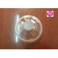 China 6oz 3.3g BOPS Material Disposable Plastic Lids  Dome Shape SGS Certificated wholesale