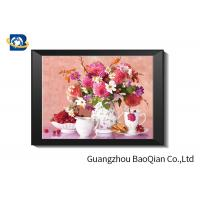China Eco - friendly Flowers 3D Lenticular Pictures For Home Decoration A3 A4 Size wholesale