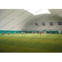 China Temporary White Inflatable Event Tent For Putdoor Football Sport Playground wholesale