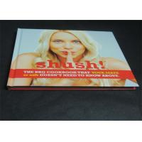 China Glossy Paper Lamination Embossed Cookbook Hardcover Book Printing 350gsm wholesale