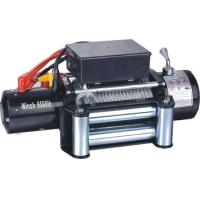 China Most popular powerful 12V 9500 lbs electric winch wholesale