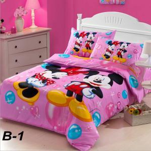 Kids 4-pc Bedding set, 8 Beautiful Styles
