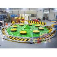 Quality 7 * 7m Inflatable Interactive Games inflatable Meltdown Wipeout Eliminator for sale