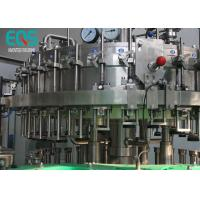 China 3 in 1 Carbonated Drink Filling Machine Sus 304 Material With Washer / Filler / Capper on sale