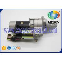 China PC220LC-3 PF5-1 S6D105 Excavator Starter Motor Metal Matarial 600-813-4120 on sale
