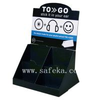 China Attractive Cardboard Counter Display stand ,Headphone promotional stand wholesale