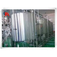 China Small Scale Milk Production Line Air Conveyor Connects With Bottle - In Star Wheels wholesale