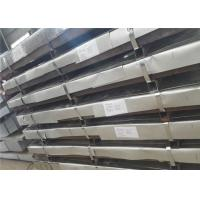 China GB Thin Stainless Steel Sheet Metal , Elevator Decoration 316 SS Plate wholesale