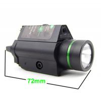 Quality Tactical Green Laser Sight and LED Combo with Picatinny Rail for sale