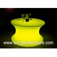 China Waterproof Led outdoor furniture , lighting glowing bar table / stools wholesale