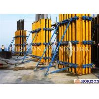 China Rectangular Wall Formwork Combined with Wooden Girder H20 and Steel Walings wholesale
