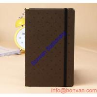 China A5 Custom Design Mini Exercise Leather Diary Notebook with Magnetic,leather Diary wholesale