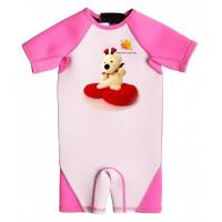 China High Quality Girl Neoprene Wetsuit with UV Protection and Cartoon Deer wholesale