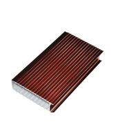 China Electrophoresis 6063-T5 Aluminium Window Extrusion Profiles By Bending / Cutting wholesale