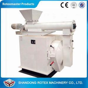 China Horizontal Ring Die Chicken Feed Pelletizer Machines Crop Stalks , Coarse fiber wholesale