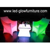 China Fashionable and cleanable remote control night club bar stools / couch / chair wholesale