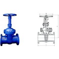 China DIN F7 WCB CF8 Electric Actuated Water Gate Valves Flange end wholesale