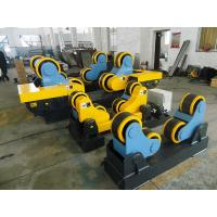 Buy cheap 40 T Steel / Rubber Pipe Welding Rotator with Remote Hand Control Box 3kw Motor from wholesalers