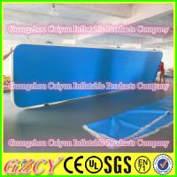 China Inflatbale Tumble Track Price Gym Air Track Floor wholesale