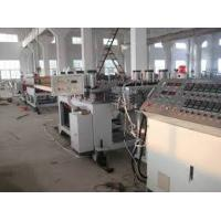 China Twin - Screw Pvc Foam Board Machine / Production Line / Extrusion Line Fully Automatic wholesale