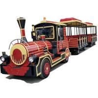 China CE Certificate Theme Park Electric Train For Kids With Durable FRP Material wholesale