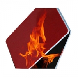 China Internal Walls AA1100 PE Core Fireproof Aluminum Composite Panel wholesale