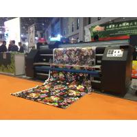 Buy cheap Continuously Digital Printing Machine / Large Format Inkjet Printer For Fabric from wholesalers