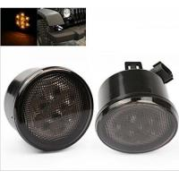 China Yellow LED Vehicle Work Light Front Turn Signal Light Assembly With Smoke Lens wholesale