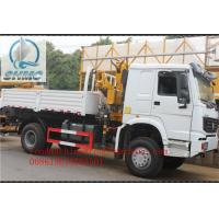 Buy cheap Lifting 3200KG Hydraulic Truck Mounted Cranes / Service Truck Crane from wholesalers