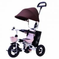 China foldable baby 3 wheel trike car / metal frame child trike for sale wholesale