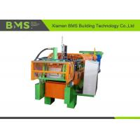 China Durable Steel Wall Panel Roll Forming Machine Cr 12Mov Cutting Blade Material wholesale