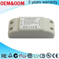 China 17-21V DC 18W 600mA dimmable constant current led driver close frame 3 years warranty wholesale